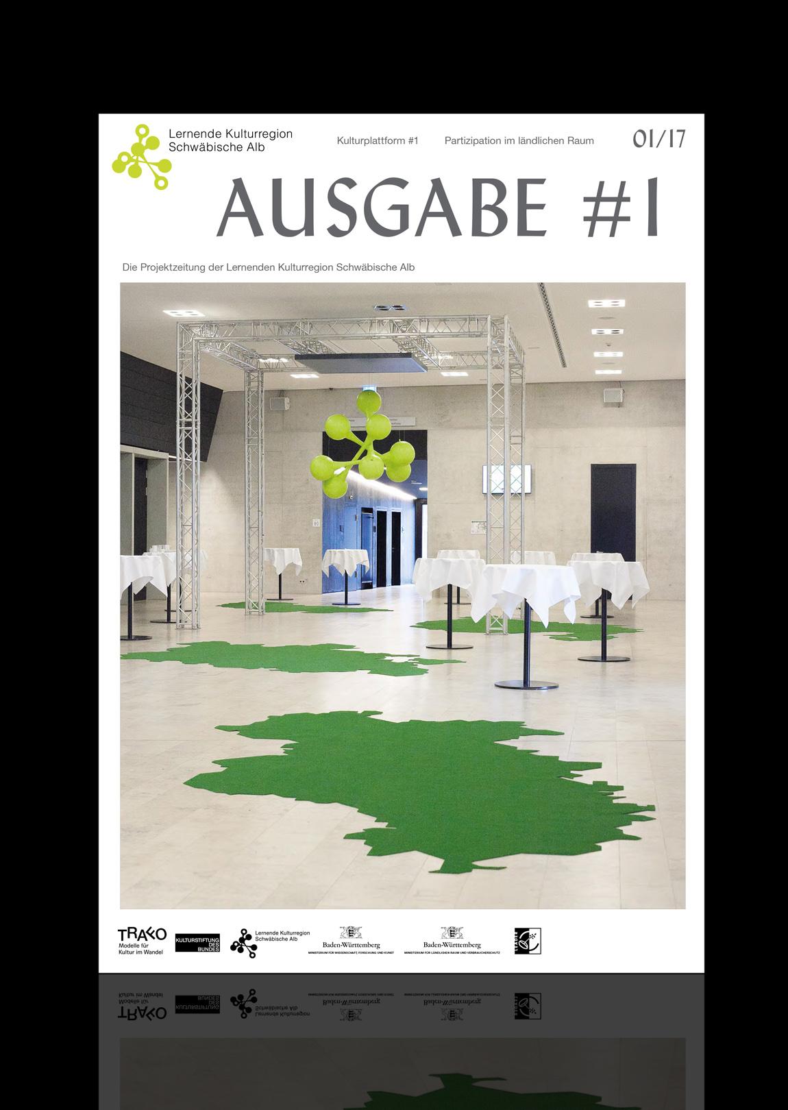 Ausgabe 1 Lernende Kulturregion Schwäbische Alb Zeitschrift