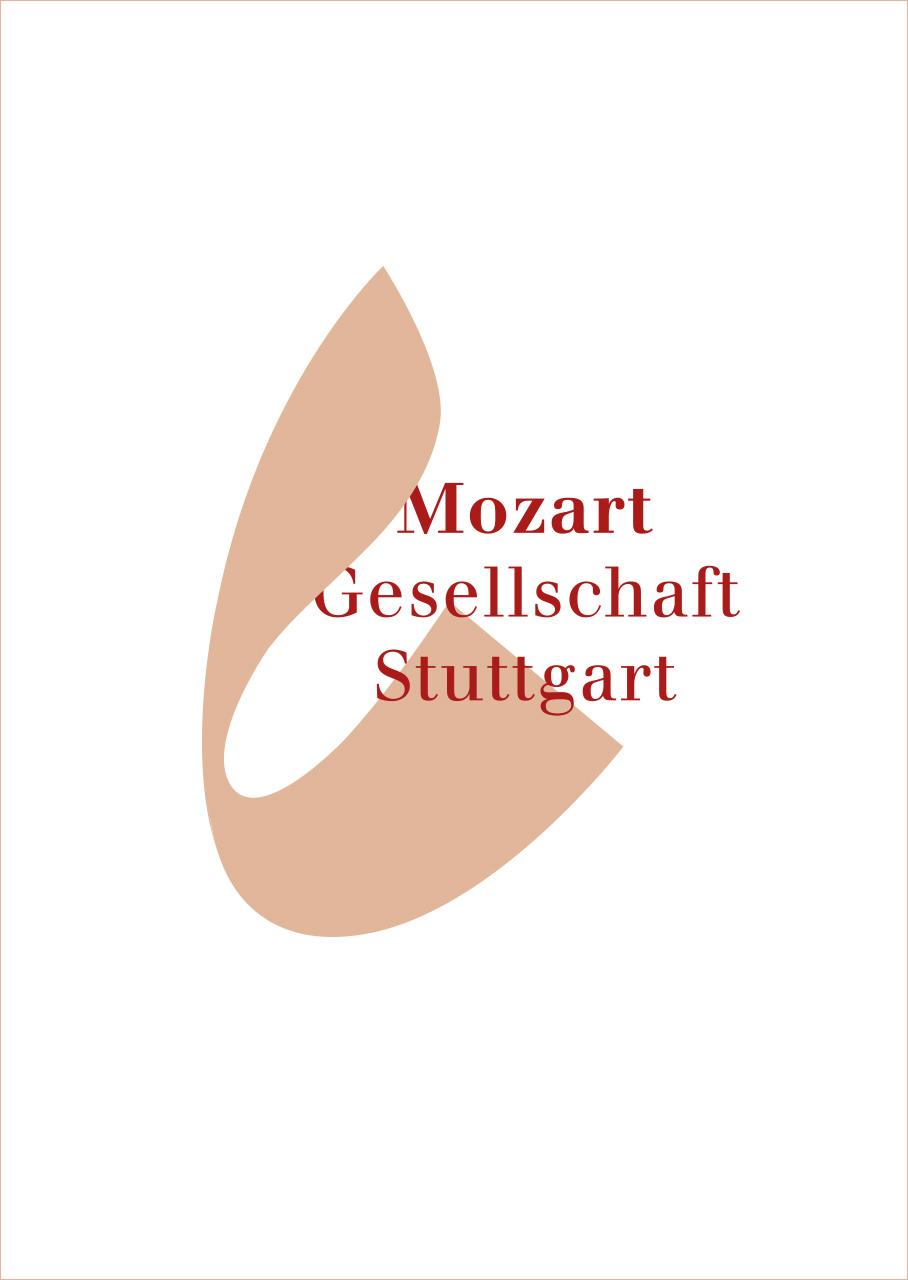 Mozart Gesellschaft Stuttgart Corporate Design Logo Engenhart #engenhart #engenhartdesings #engenhartbrands